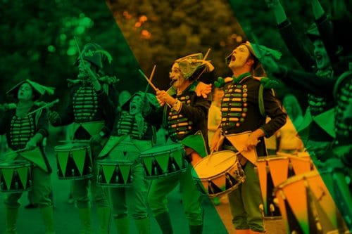 Les tambours – Cie Transe Express